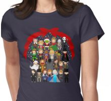 Tiny Troupe Christmas Womens Fitted T-Shirt