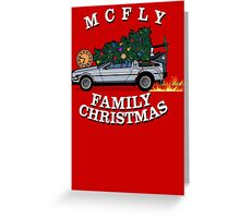 McFly Family Christmas Greeting Card