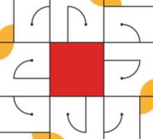 Adab (Etiquette) Sticker