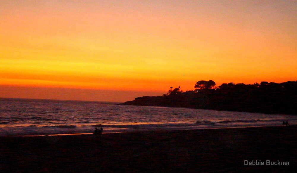 Sunset in Dana Point 2 by Debbie Buckner