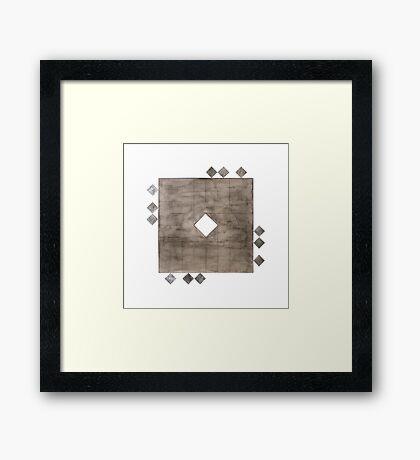 Faqr (Poverty) Framed Print