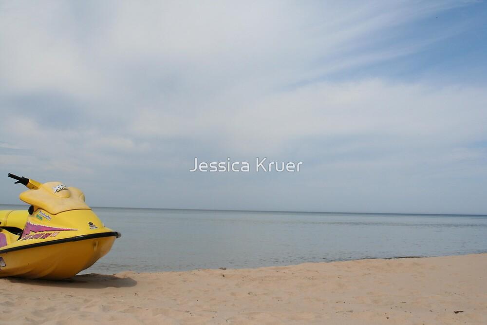 Private Beach by Jessica Kruer