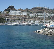 Gran Canaria harbour by bex993