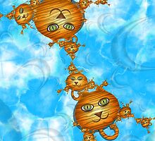Inner Child - Little Tigers in the Sky by lacitrouille
