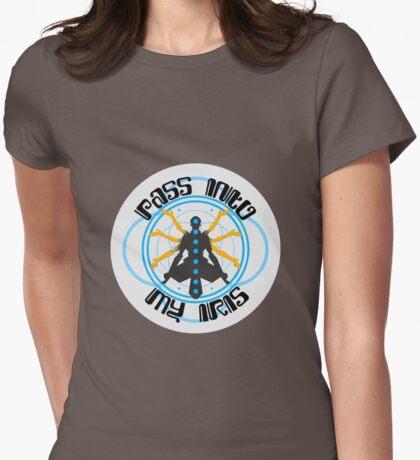 Zenyatta - Pass Into My Iris Womens Fitted T-Shirt