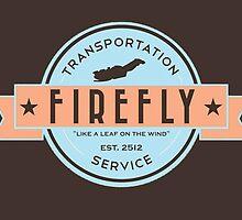 Firefly Transportation Logo by Spannerofwar
