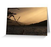 Loch Ness Sunset, Scotland Greeting Card