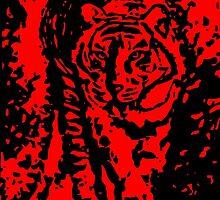 Stalking Tiger by Matthew Colebourn