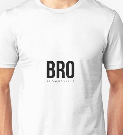 BRO - Brownsville Airport Code Unisex T-Shirt