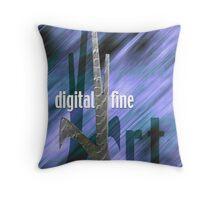 Digital Fine Art Throw Pillow