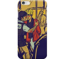Enjolras gets arrested by Coptaire iPhone Case/Skin