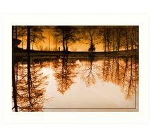 Dream of the trees Art Print