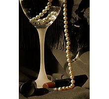 SHE WORE PEARLS Photographic Print