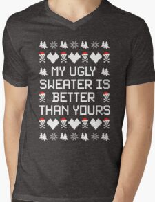 My Ugly Sweater Is Better Than Yours!! Mens V-Neck T-Shirt