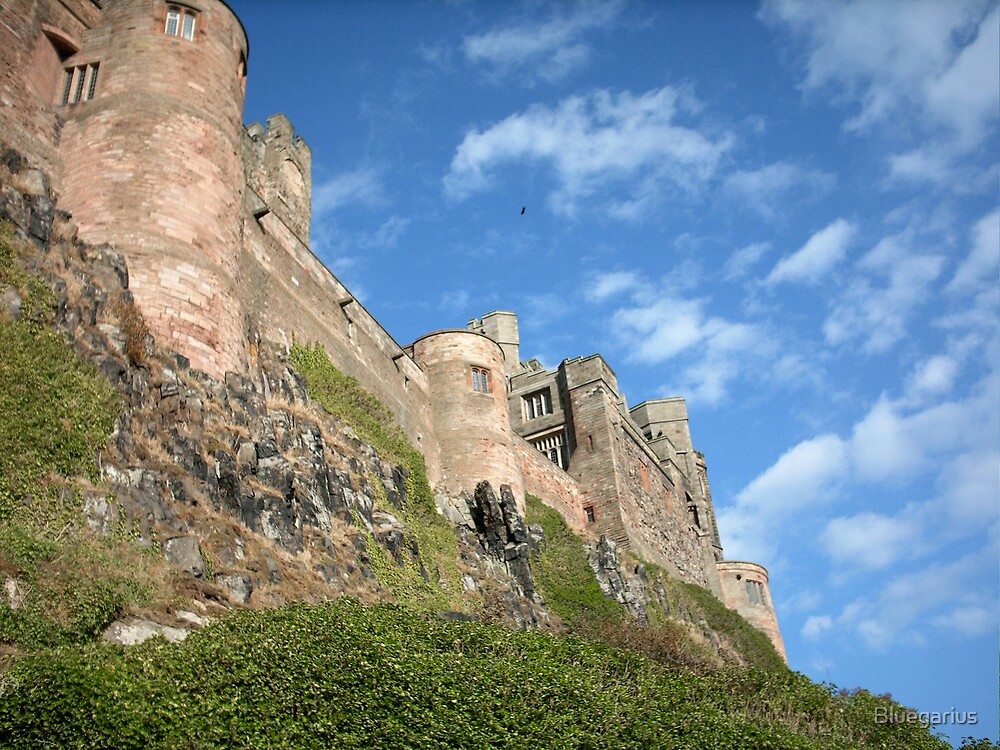 Bamburgh Castle by Bluegarius