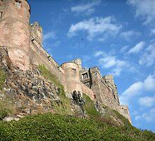 Bamburgh Castle by Bluegarius
