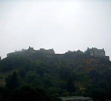 Edinburgh Castle by Bluegarius