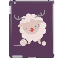 sheep knitting crochet yarn balls reindeer costume iPad Case/Skin