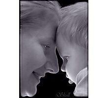 Woman and girl Photographic Print