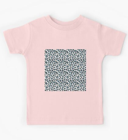 Leopard Spots in Blue Kids Tee