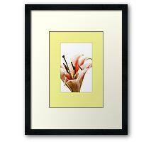 ENCORE Framed Print