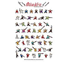 MiniFu Poster Photographic Print