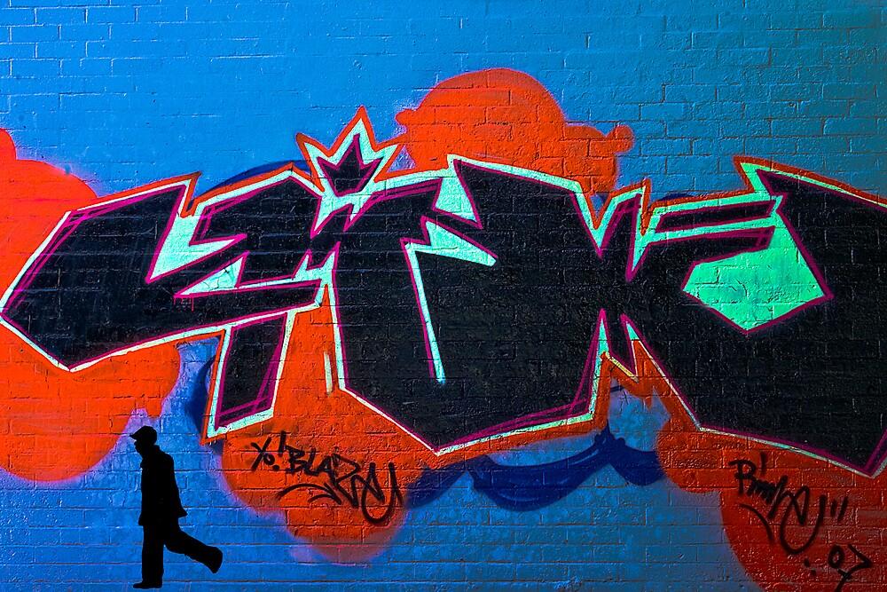 Urban Graffiti II by Chris Clark