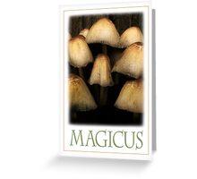 MAGICUS Greeting Card