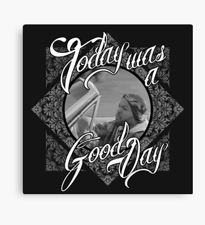 Official Ice Cube - It Was A Good Day Tee Canvas Print