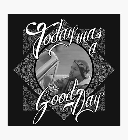 Official Ice Cube - It Was A Good Day Tee Photographic Print