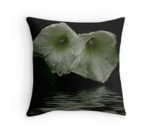Wet Weed Throw Pillow