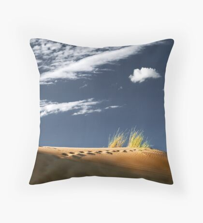 Witsand Throw Pillow