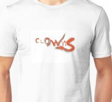 Clowns Red Unisex T-Shirt