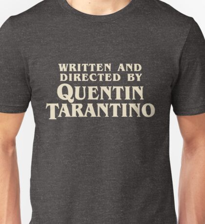 Pulp Fiction directed by Quentin Tarantino Unisex T-Shirt