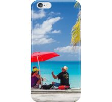 Discussion at the Takapoto Lagoon iPhone Case/Skin