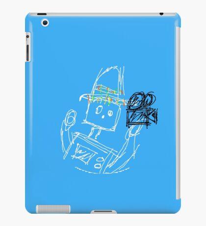 The Tortilla Robot - Blue iPad Case/Skin
