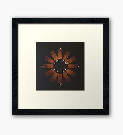 Ghaib (Unseen) Framed Print