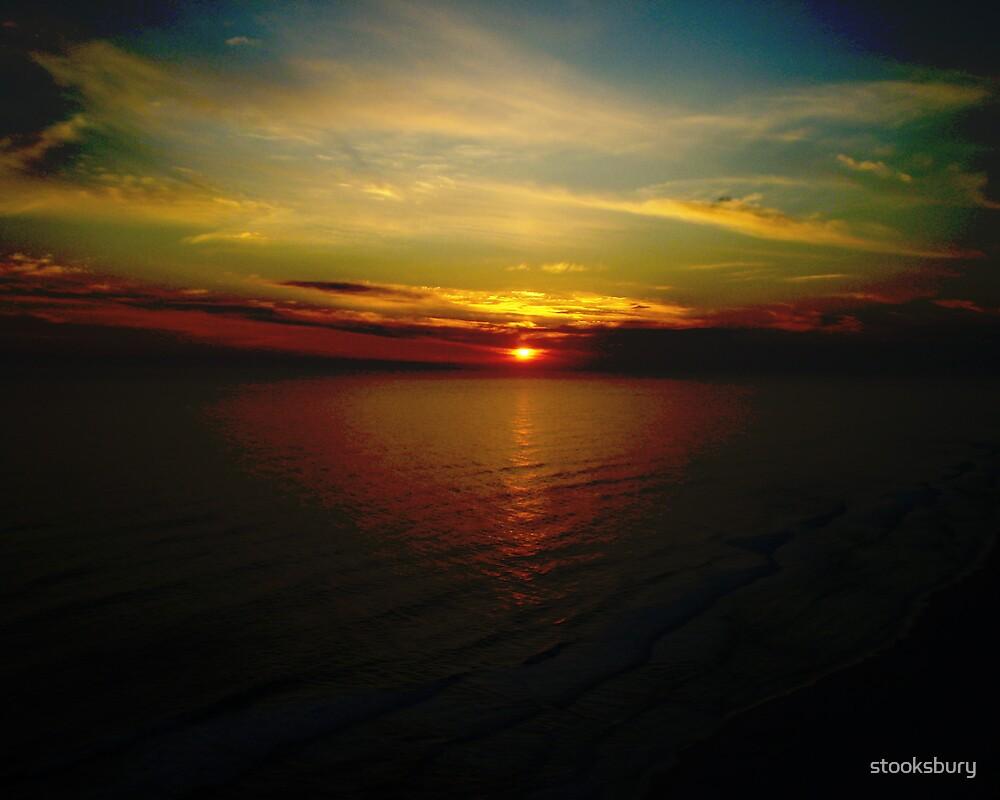 sunset by stooksbury