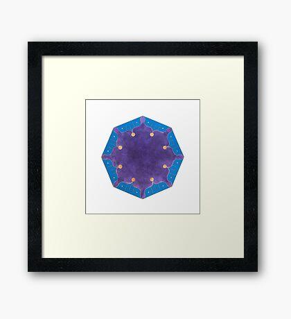 Manâm (Dream) Framed Print
