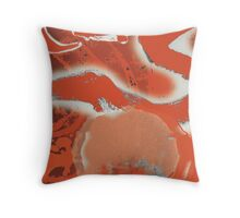 Clowns Red Throw Pillow