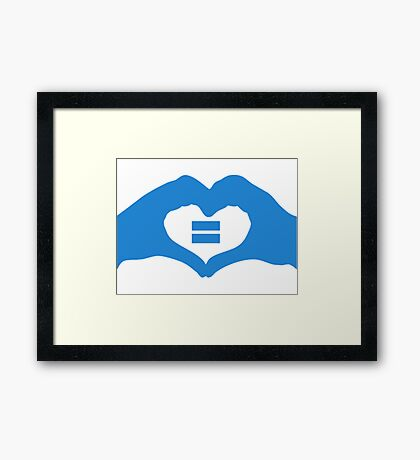 gay community Framed Print