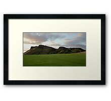 Arthur Seat and Salisbury Crags Framed Print