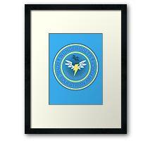 Wonderboltz - Royal Equestrian Air Force Framed Print