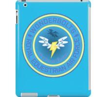 Wonderboltz - Royal Equestrian Air Force iPad Case/Skin
