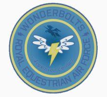 Wonderboltz - Royal Equestrian Air Force Kids Tee