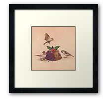 Christmas Pudding Raid  Framed Print