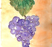 Wild Grapes by derekmccrea