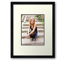 The Stairway Framed Print