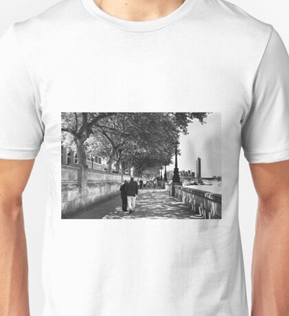 By the Thames - London, England Unisex T-Shirt