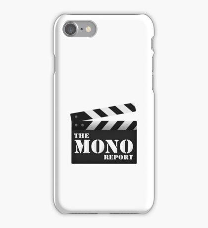 The Mono Report iPhone Case/Skin